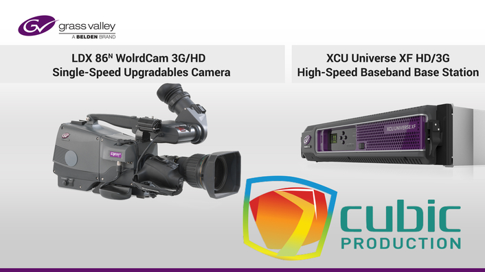 Cubic Production Invests in Grass Valley Live Production Solutions