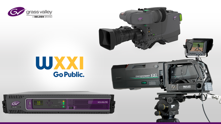 WXXI TV Selects Grass Valley Cameras for Newly Upgraded Production Studios