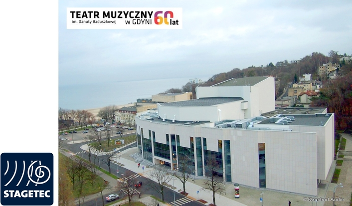 Stage Tec ensures excellent sound at the Gdynia Musical Theatre in Poland