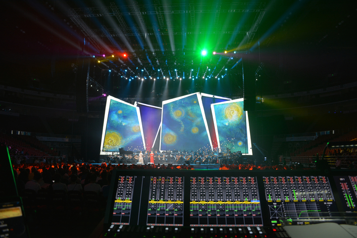 AURUS mixes FOH for CCTV event in Beijing