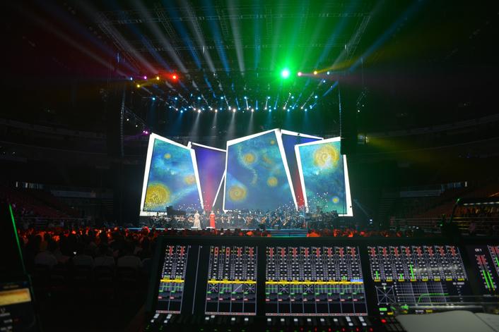 AURUS mixes FOH for CCTV event in Beijing