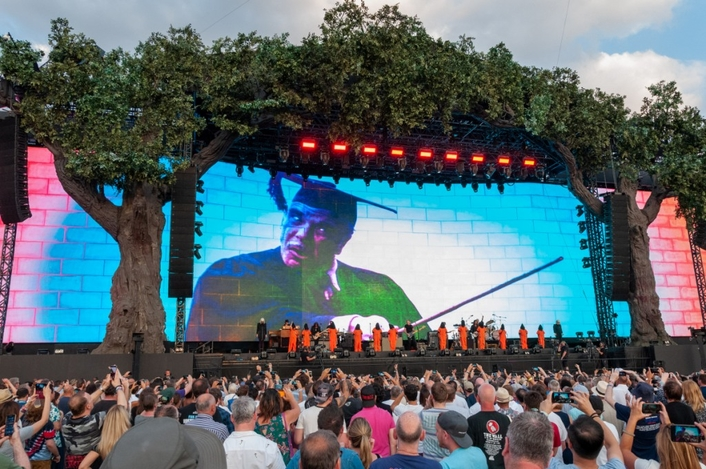 MARTIN AUDIO ON A HIGH IN HYDE PARK