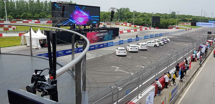 The China Touring Car Championship (CTCC) trust in Silvus wireless communication technology for improved camera coverage
