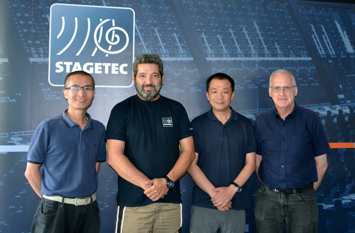 Stage Tec Welcomes Sales Partnership in China