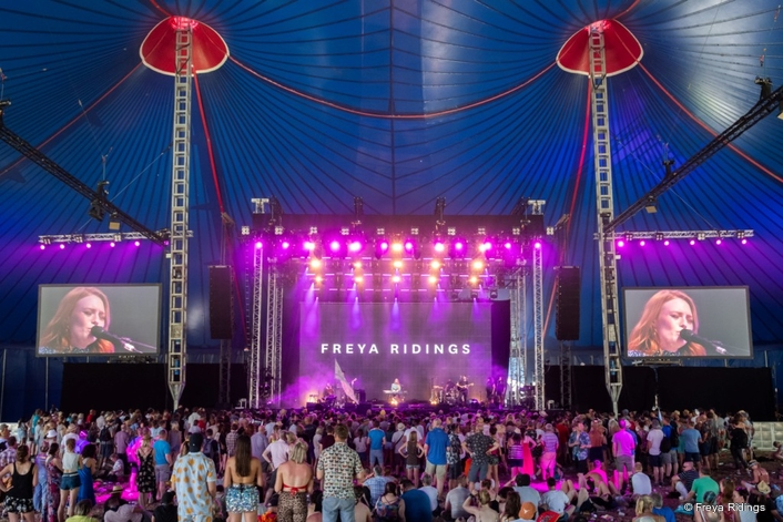 Martin Audio Deployed on John Peel stage, The Park and Left Field at Glastonbury