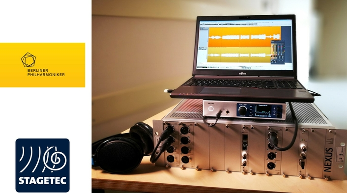 Stage Tec converter digitizes historical Berlin Philharmonic recordings