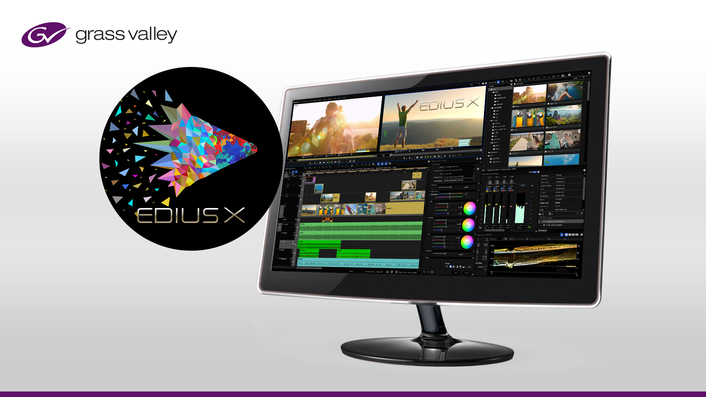 Grass Valley Launches Next-Generation in Editing Software with EDIUS X