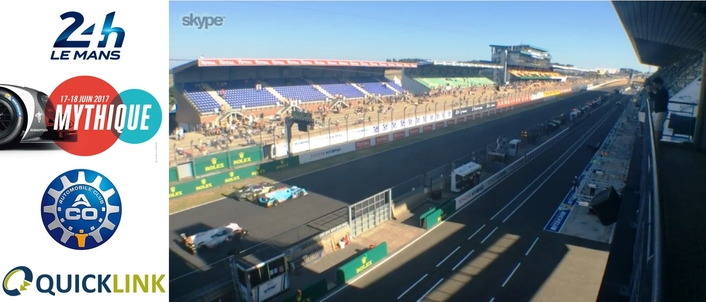 Quicklink TX Quad brings fans and race coverage together for 24 Hours of Le Mans