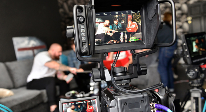 YouTuber Collaborates with Bookmakers Coral to Stream Football Show using Blackmagic Design