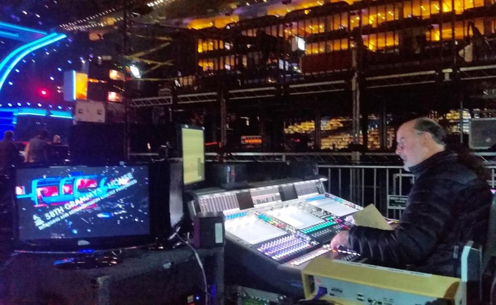 During a Night of Tributes and Performances from Today's Best Artists,  Powersoft Delivers 720,000 Watts of Crisp and Reliable Audio