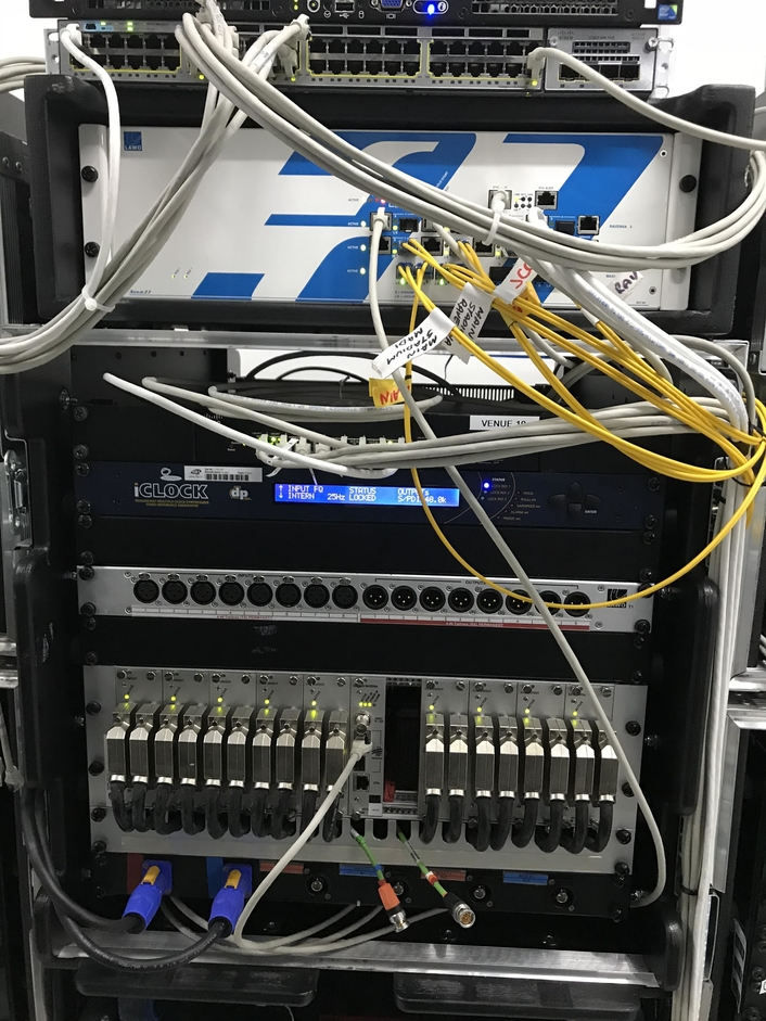 Lawo V__matrix IP Core Routing & Processing Platform Used at Asian Games