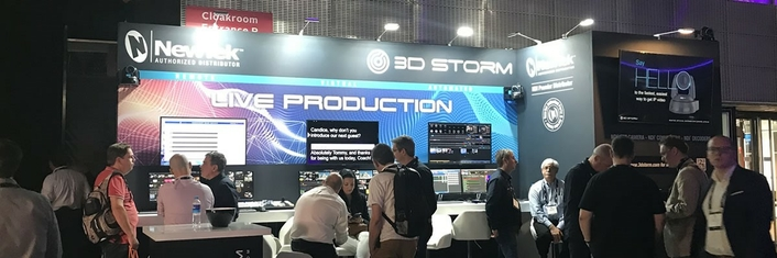 3D Storm presents the IBC 2019 highlights from NewTek and LiveXpert