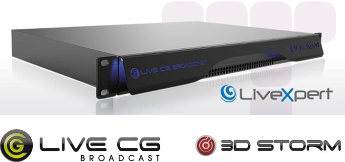 LiveCG Broadcast New Version Now Shipping!