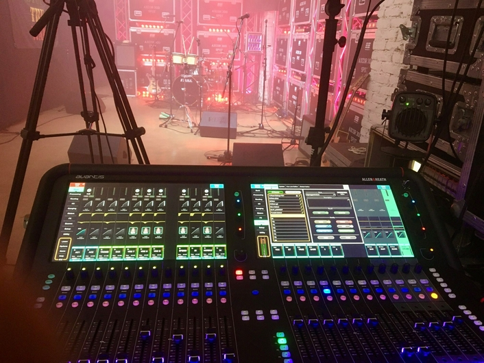 From Warehouse to TV Studio – dLive and Avantis Mix 3S Lockdown Sessions