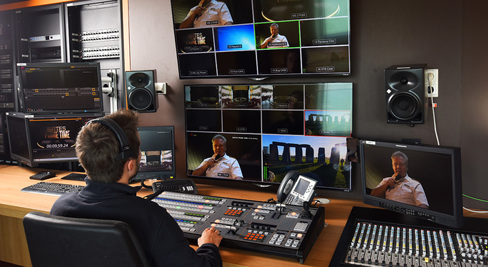 AIDA Cruise Integrates Onboard AV Solution with Blackmagic Design