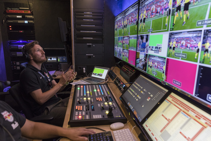 FC Red Bull Salzburg Delivers FanTV Channel with Blackmagic Design