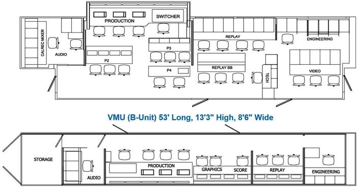 Floor Plan 40 HDX / VMU