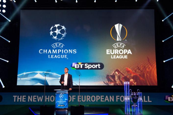 BT Sport UEFA Champions League and UEFA Europa League coverage announcements