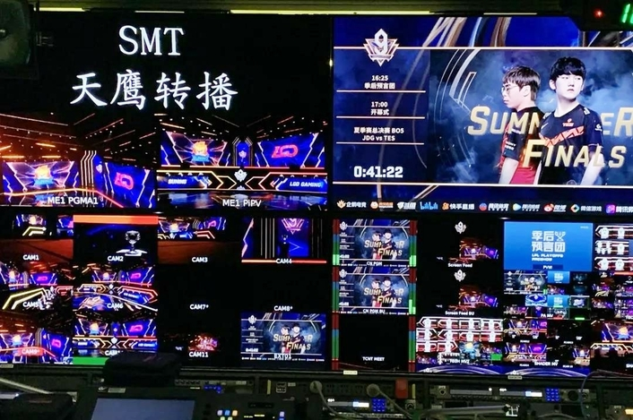 SMT Together With Tengjing Sports Provided Full Remote Production for LPL 9th Anniversary Carnival Ceremony