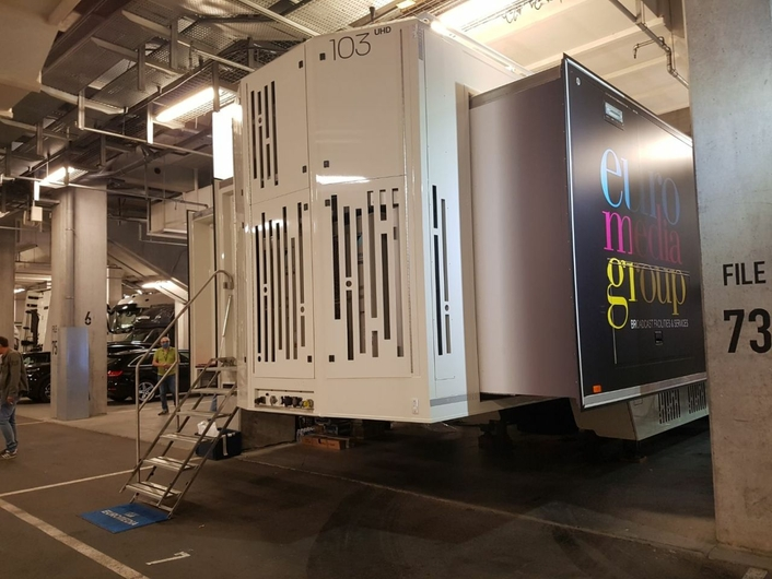 """UEFA Super Cup in Budapest with new UHD/HDR OB truck """"Nova 103"""""""