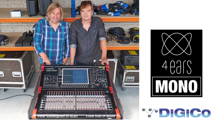 4Ears and Mono get closer to the audience with DiGiCo