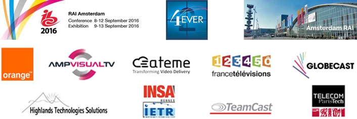 4EVER-2 consortium presents its research results at IBC 2016