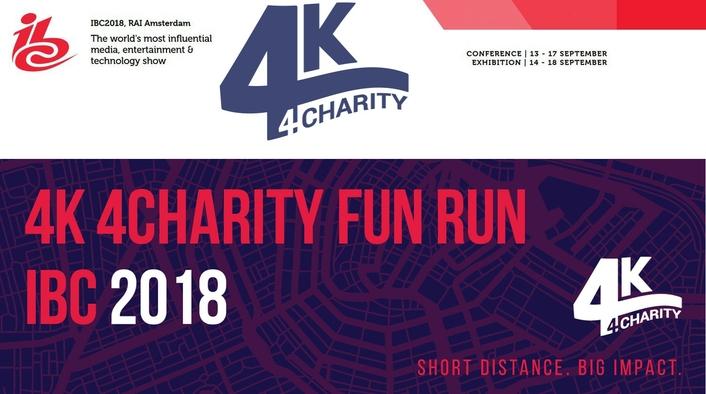 4K 4Charity Fun Run Announces Open Registration for IBC 2018