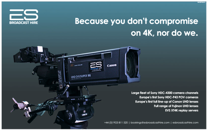 XT4Ks to be made available within one of Europe's largest UHD inventories of hire equipment
