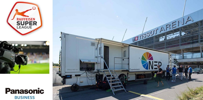 NEP's first 4K OB truck relies on Panasonic 4K cameras