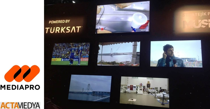 Mediapro Turkey & ACTA Medya Produces The First Ultra HD - 4K Video Conference of the World