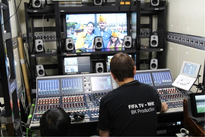 Image result for NHK-8K-Production-benches