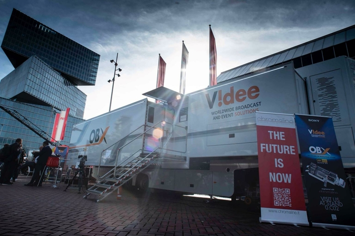Videe's new OB-X truck combines expert design with integrated technologies to deliver high performance and operational efficiency.