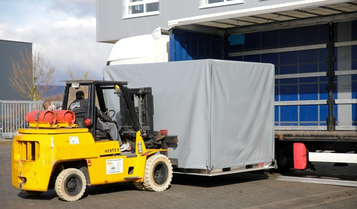 NEP Germany moves into air freight containers for production of the current Formula 1 season