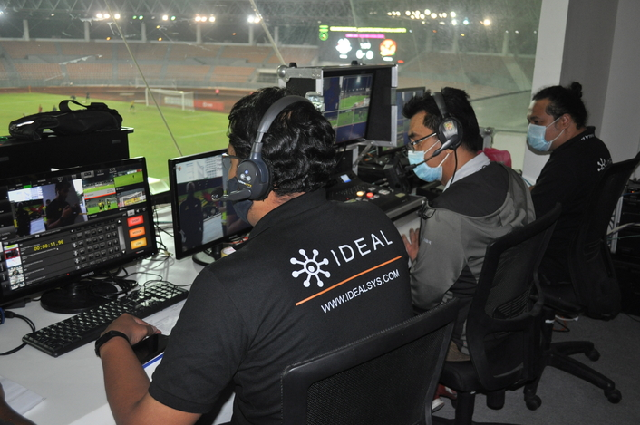 In-cloud 'pop-up' matches for Malaysian Football League latest live production to benefit from Dejero's Smart Blending Technology