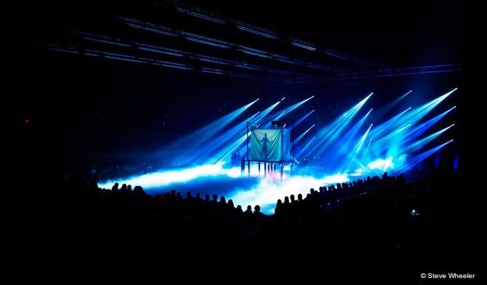 "Claypaky Lighting Fixtures Support ""Ilusio, Magic on Ice"" During its Roanoke, Virginia Run"