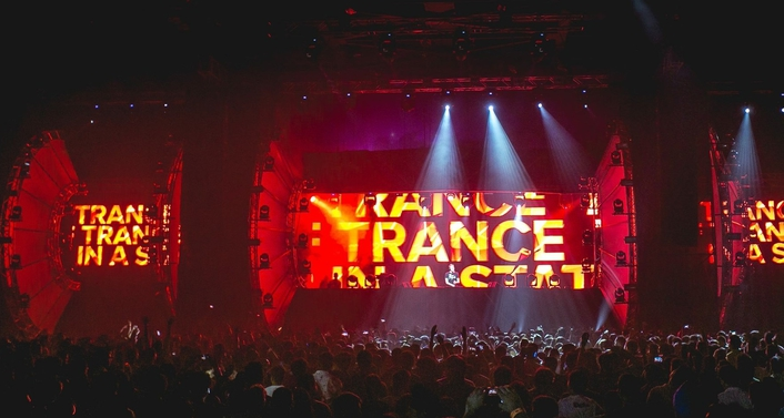 Dutch trance music DJ and producer Armin van Buuren's radio show A State of Trance
