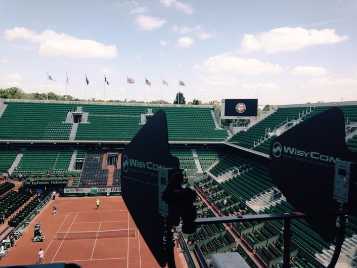 Wisycom VER Frequence France Televisions Roland Garros