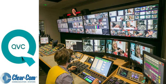 QVC UK Outfits New HD Facility with Clear-Com Intercom ...