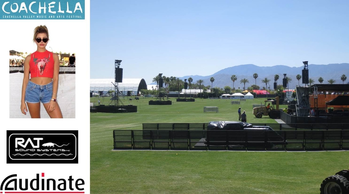 The annual festival featured over 200 artists and attracts several hundred thousand fans to the desert climate of Indio