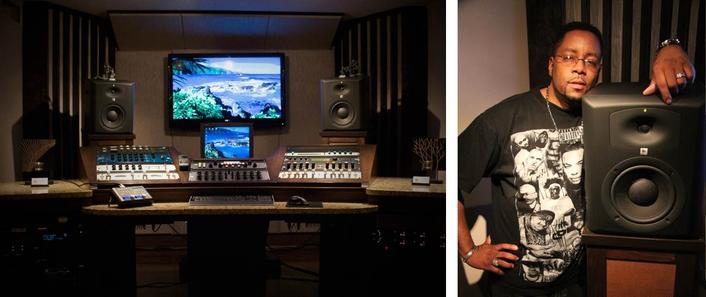 kenny mixx making history with jbl lsr studio monitors live production tv. Black Bedroom Furniture Sets. Home Design Ideas