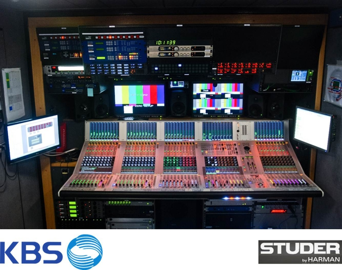 kbs upgrades with studer vista 9 digital mixing console live production tv. Black Bedroom Furniture Sets. Home Design Ideas