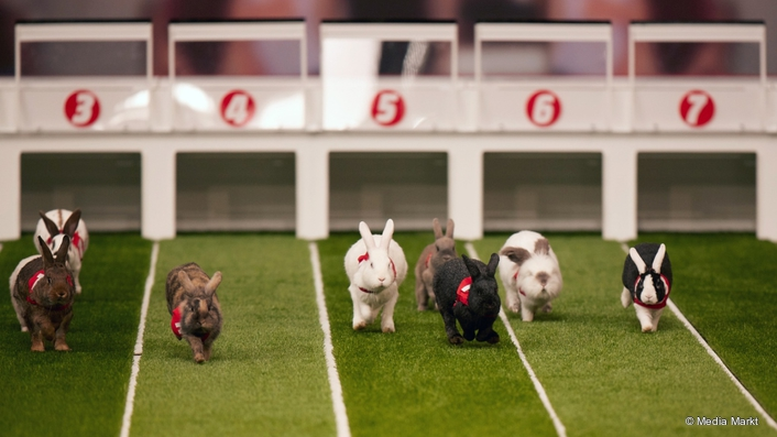 MMC Studios Easter Rabbit Race Media Markt