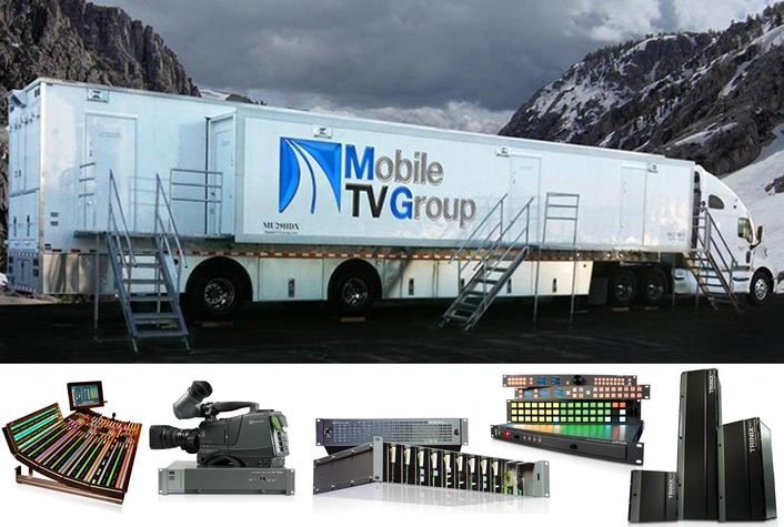 Mobile Television Group Builds Latest Truck Using Grass