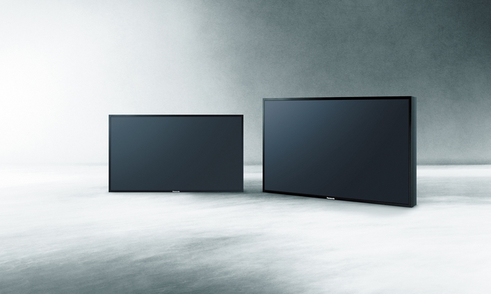 The displays can up-convert non-4K sources to a higher level
