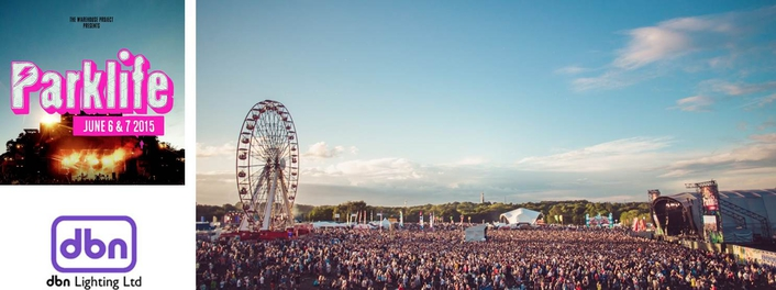dbn Lighting returned to Heaton Park in Manchester to supply lighting to five out of the eight stages