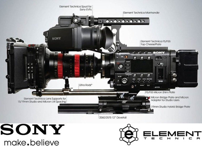 The Sony F5 Amp F55 Accessory Line Professional Camera