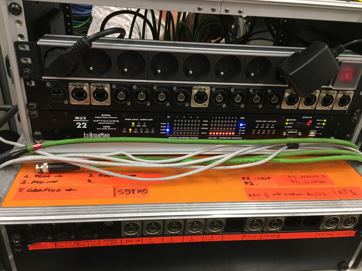 Point-to-point fiber tunnels increase the range of options over vast distances