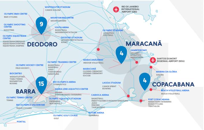 Rio 2016 Olympic Venues