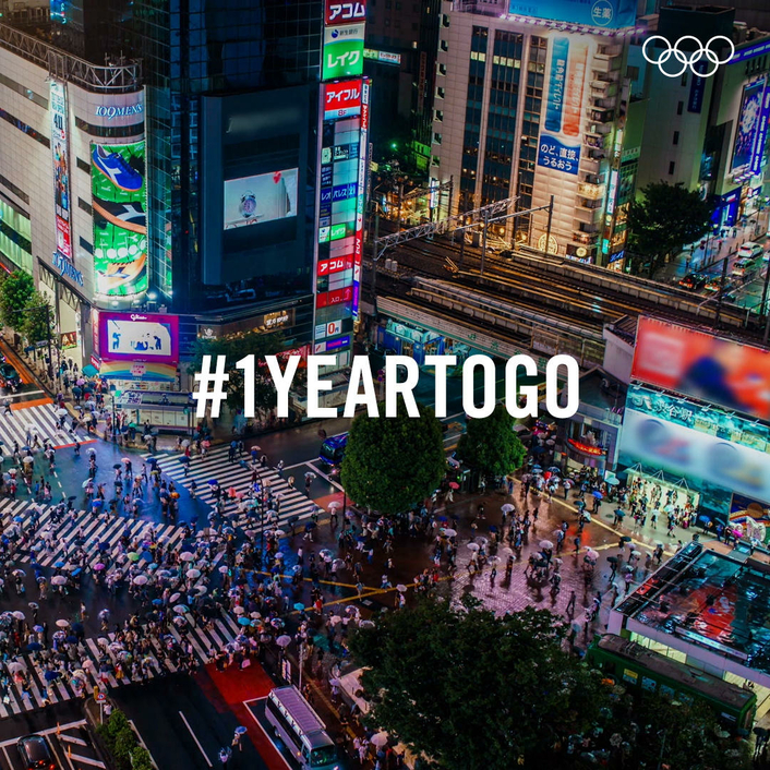IOC invites Olympic athletes of the world to Tokyo 2020 with one year to go