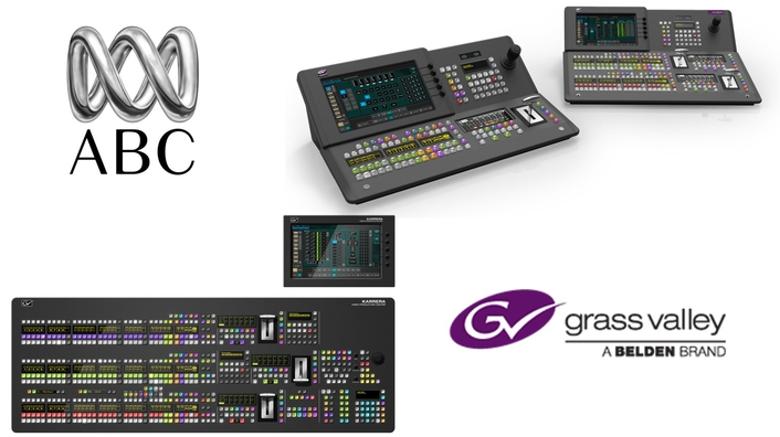 Grass Valley Switchers Play a Key Role in National Upgrade of Australian Broadcasting Corporation